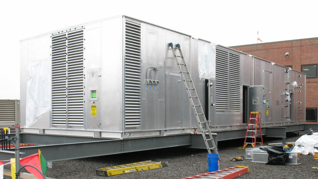 Large Modular Air Handler for a Hospital